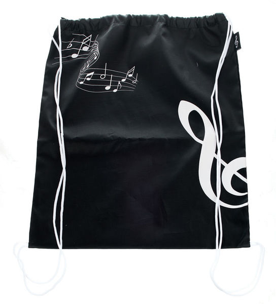 A-Gift-Republic Bag with G-Clef Black