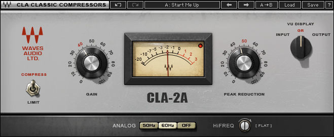 Waves CLA-2A Compressor / Limiter