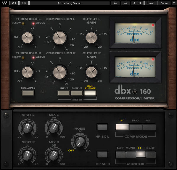 Waves dbx 160 Compressor / Limiter