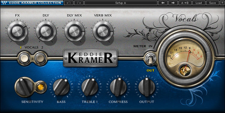 Waves Eddie Kramer Vocal Channel