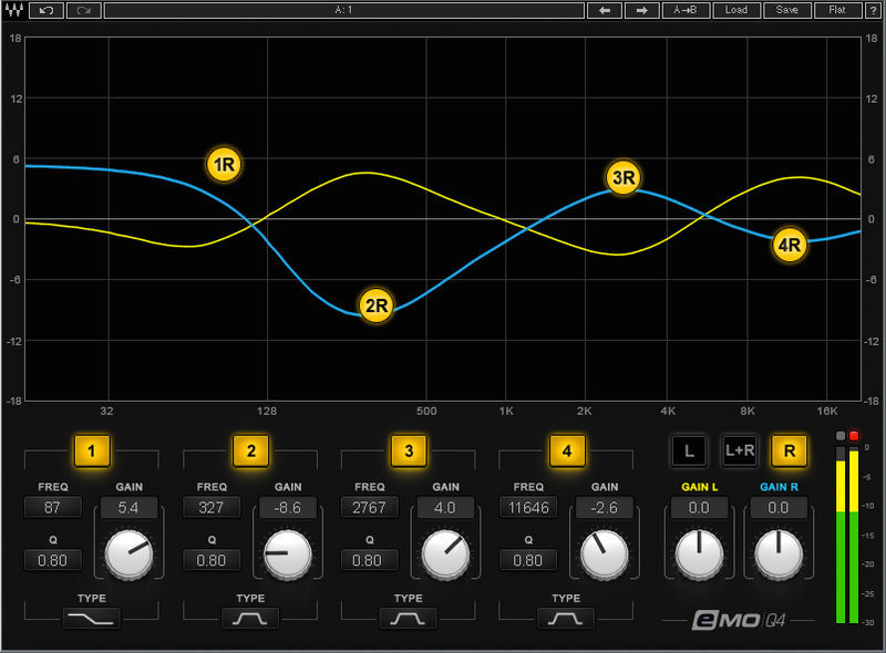 Waves eMo Q4 Equalizer
