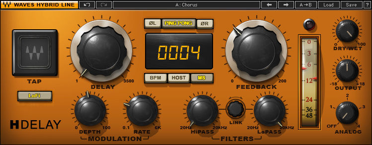 Waves H-Delay Hybrid Delay