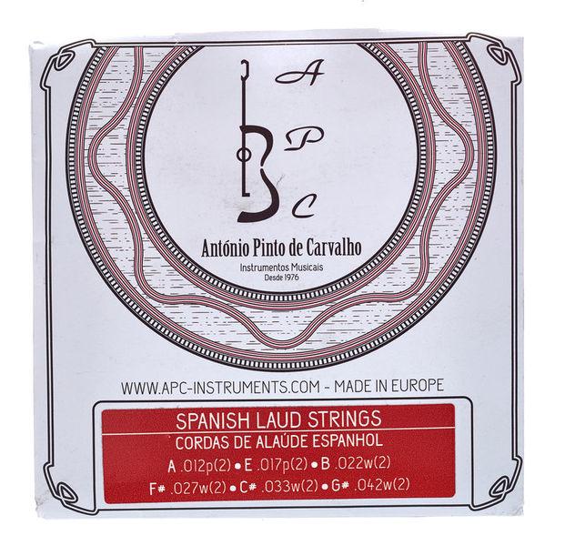 Antonio Pinto Carvalho Algerian Mondol Strings 8-Str