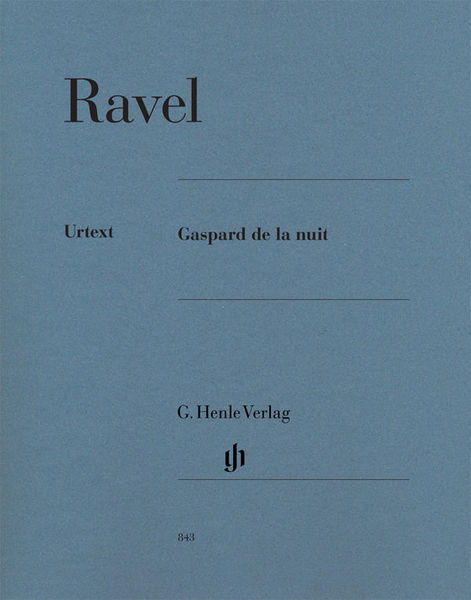 Henle Verlag Ravel Gaspard De La Nuit