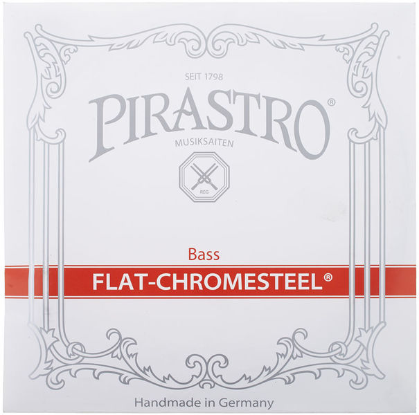 Pirastro Flat Chromesteel Solo Bass F#4