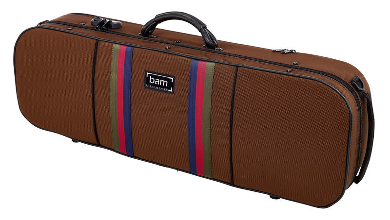 Bam SG5001SC Violin Case Chocolate