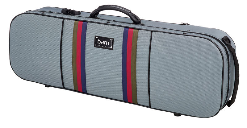 Bam SG5001SG Violin Case Grey