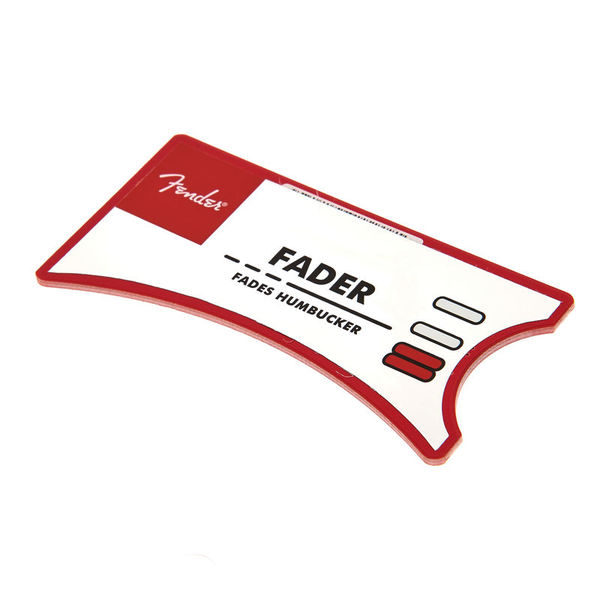 Fender Personality Card Fader SSS