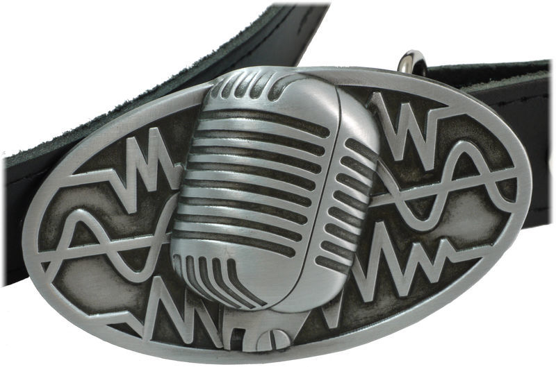 Rockys Belt Microphone Black 75-95