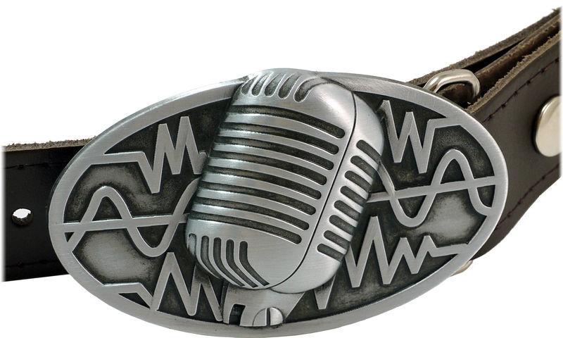Rockys Belt Microphone Brown 75-95