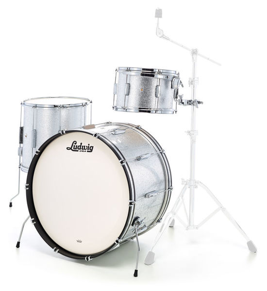 Ludwig Club Date Pro Beat Silver Mist