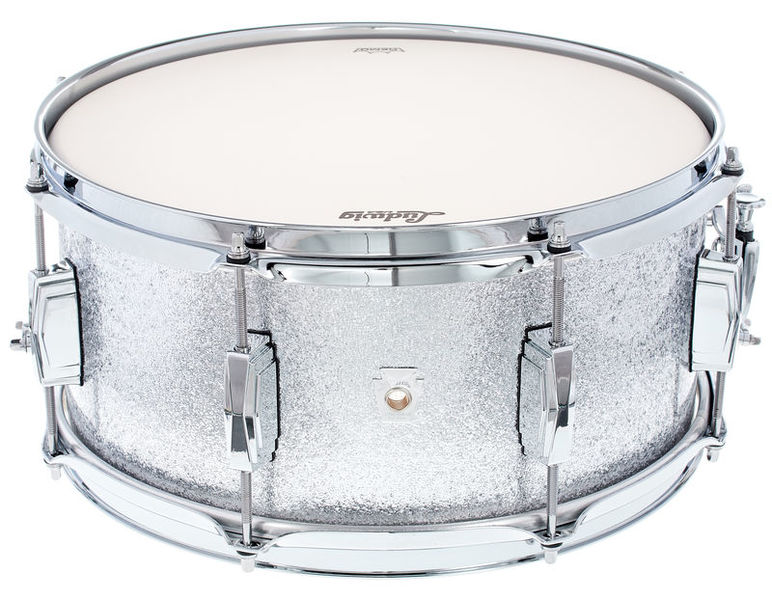 "Ludwig 14x6,5"" Club Date Snare Silver"