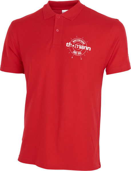 Thomann Polo Sommerfest Red M
