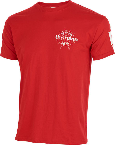 Thomann T-Shirt Red M