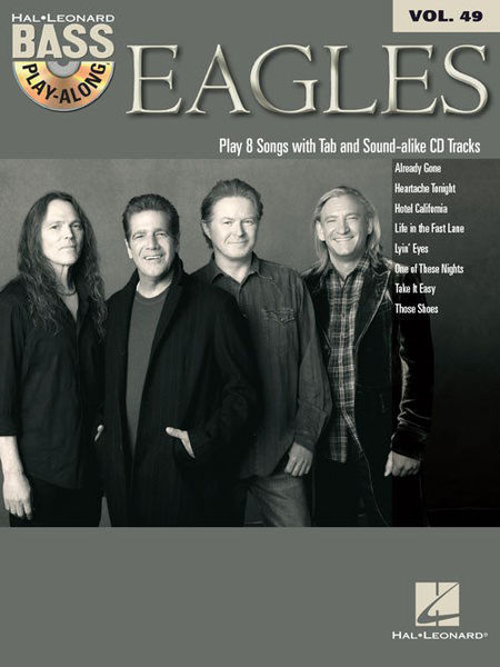 Hal Leonard Bass Play-Along Eagles