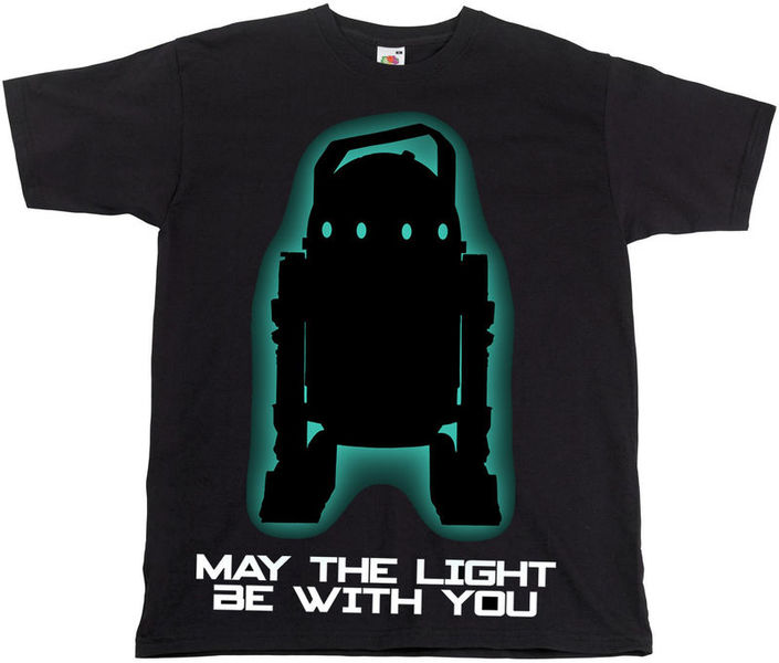 """Stairville T-Shirt """"May the light..."""" M"""
