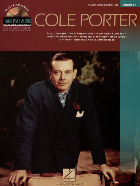 Hal Leonard Piano Play-Along Cole Porter