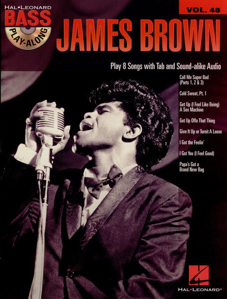 Hal Leonard Bass Play-Along James Brown