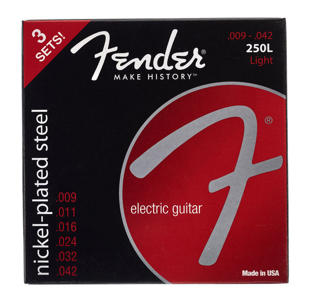 Fender 250L-3-packs Guitar Strings