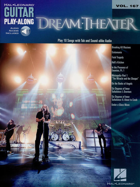 Hal Leonard Guitar Play Dream Theater