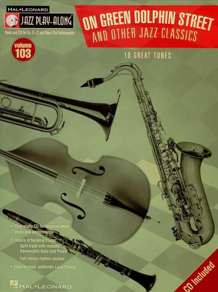 Hal Leonard Jazz Play Along Green Dolphin