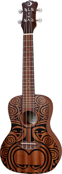 Luna Guitars Uke Tribal Concert