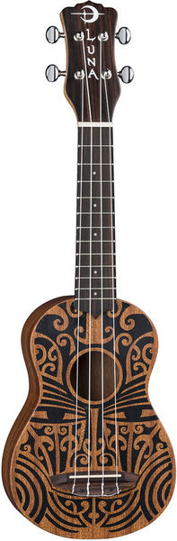 Luna Guitars Uke Tribal Soprano