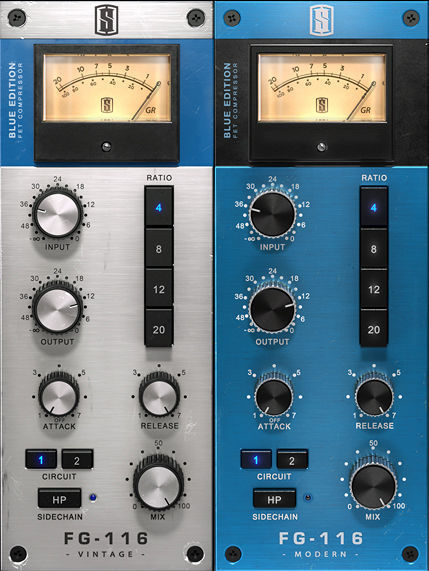 Slate Digital FG-116 Blue FET Compressors