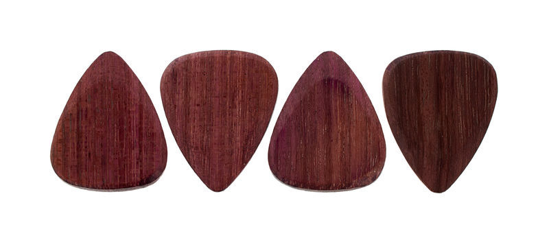 Timber Tones Purple Heart Pack of Four