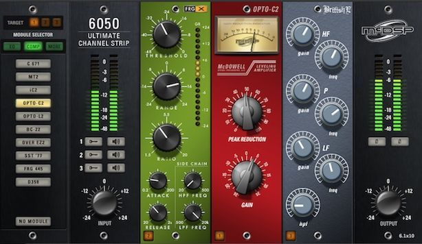 McDSP 6050 Ultimate Channel Strip Na