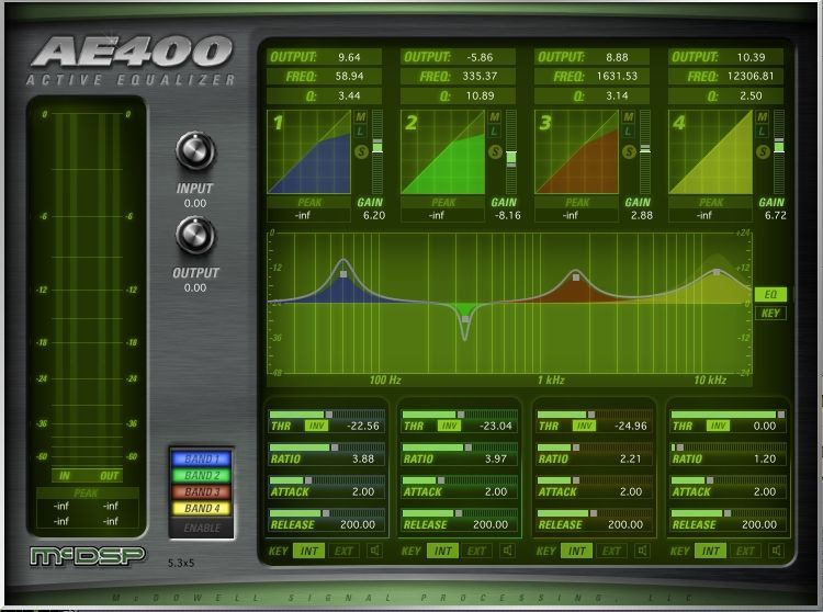 McDSP AE400 Active EQ HD