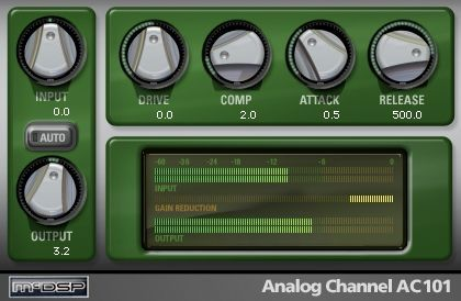 McDSP Analog Channel Native