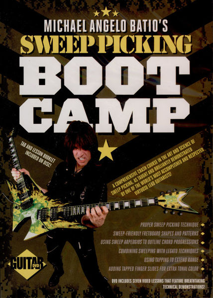 Guitar World Michael Angelo Batio's Sweep