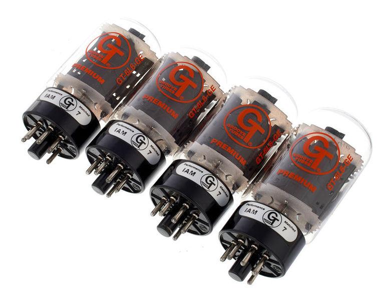 Groove Tubes GT-6L6-GE Med Quartett