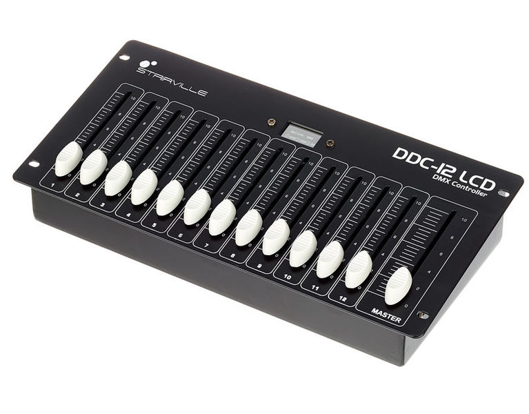 DDC-12 LCD DMX Controller Stairville