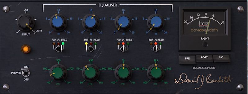 Boz Digital Labs +10dB Equaliser