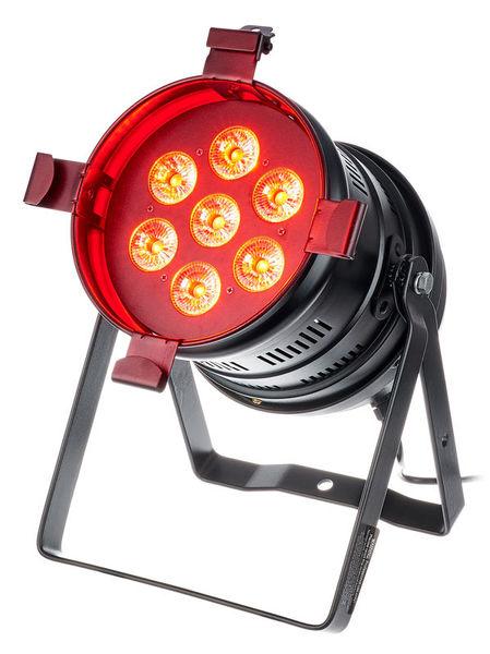 Varytec LED PAR 64 Floor 5in1 7x10W RG