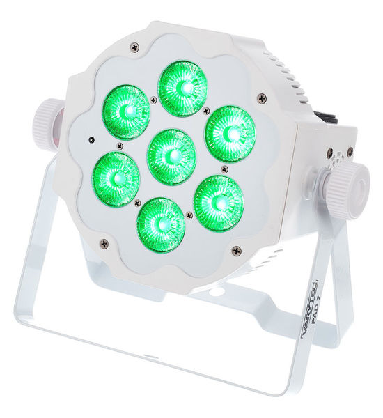 LED Pad7 7x10W 6in1 RGBWAUV WH Varytec