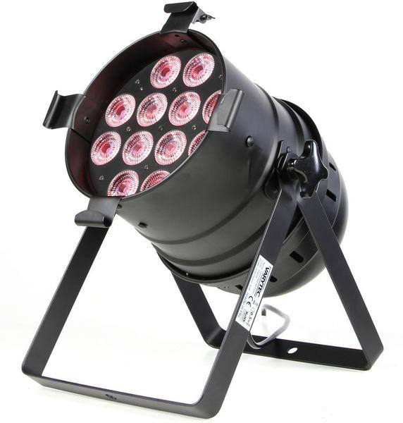 Varytec LED PAR64 floor 12x8W RGBWAUV