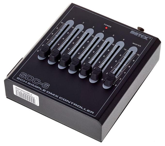 Botex Controller DMX SDC-6