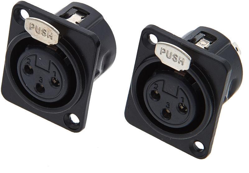 Sirus Pro Mounting Socket XLR Simple 3p