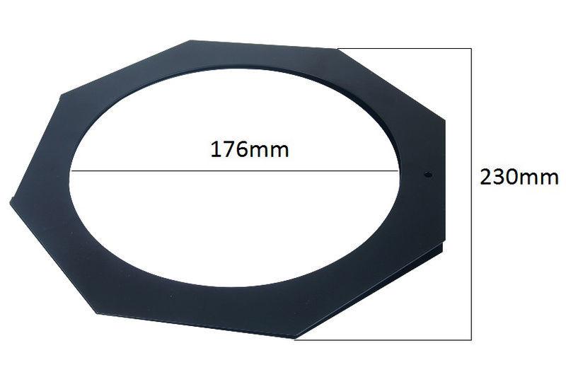 Varytec filter frame octagon PAR 56 bl