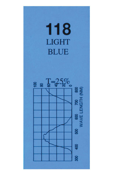 Varytec Colour Sheet Light Blue 118