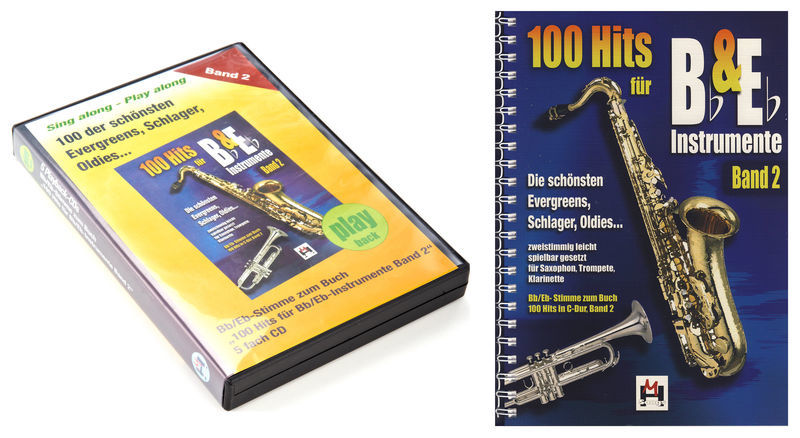 Musikverlag Hildner 100 Hits for Bb & Eb Vol.2 Set