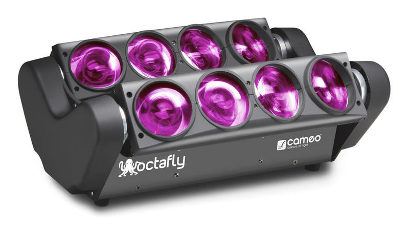 Cameo Octafly RGBW 8 x 10W LED