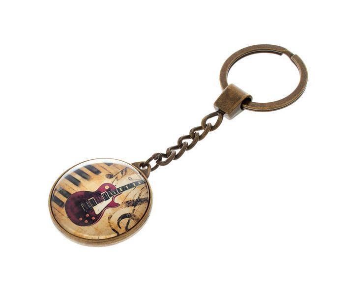 Anka Verlag Key Ring E-Guitar Red M1
