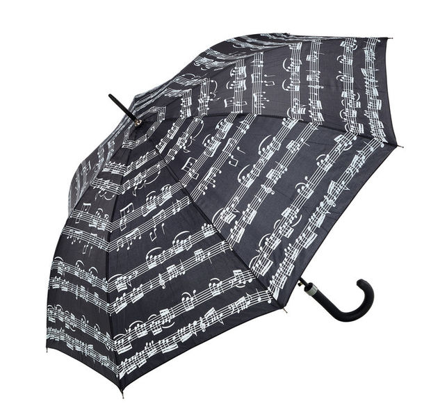 Anka Verlag Walking-Stick Umbrella Black