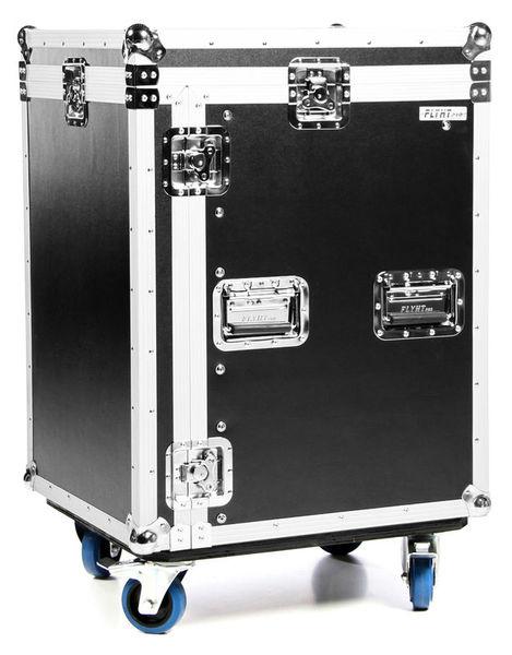 L-Rack 12U/10U Profi SF Wheels Flyht Pro