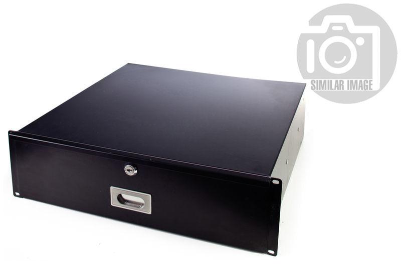 "Flyht Pro Rack Drawer 19"" 3U 45 cm lock"