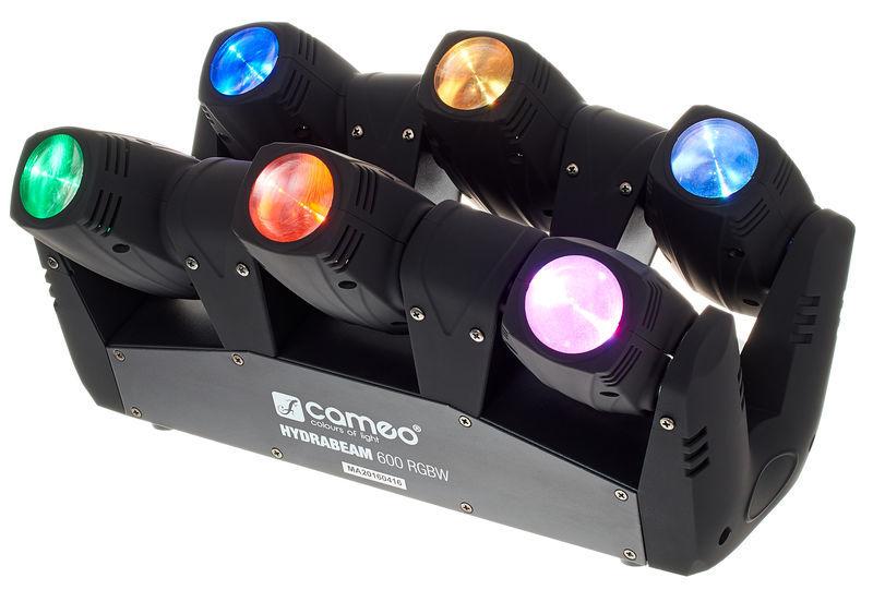 cameo hydrabeam 600 rgbw cameo hydrabeam 100 rgbw lighting set